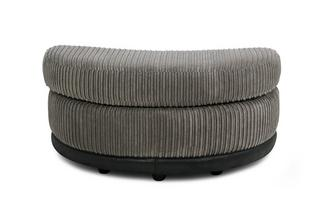 Half Moon Footstool Roxy