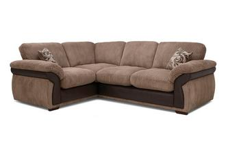 Formal Back Right Hand Facing 2 Seater Corner Sofa
