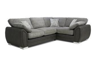 Formal Back Left Hand Facing 3 Seater Supreme Corner Sofa Bed