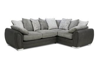 Pillow Back Left Hand Facing 3 Seater Supreme Corner Sofa Bed