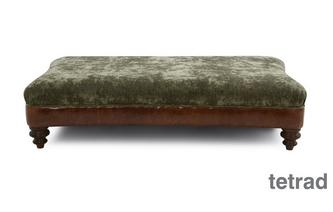 Large Rectangular Footstool Ruskin