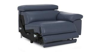Salone Right Arm Facing 1 Seater Power  Recliner Unit