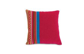 Narrow Stripe and Plain Pillowback Salsa Fabric