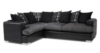 Samara Pillow Back Right Hand Facing 3 Seater Corner Sofa ...