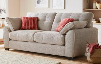 Sandford 3 Seater Sofa KIrkby Plain