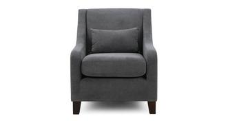Savanna Accent Chair with 1 Plain Bolster