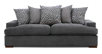Savanna Pillow Back 4 Seater Sofa