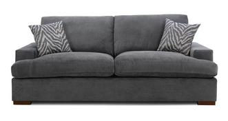 Savanna Formal Back 4 Seater Sofa Removable Arm