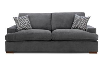 Formal Back 4 Seater Sofa Removable Arm Savanna