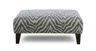 Savanna Pattern Banquette Footstool