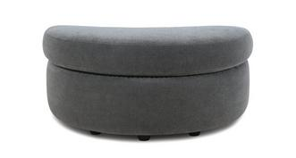 Savanna Half Moon Footstool