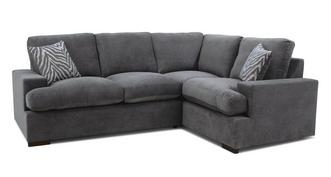 Savanna Formal Back Left Hand Facing 2 Seater Corner Sofa