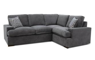 Formal Back Left Hand Facing 2 Seater Corner Sofa Savanna