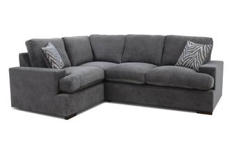 Formal Back Right Hand Facing 2 Seater Corner Sofa Savanna