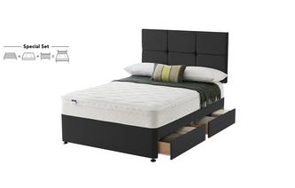 King 4 Drawer Set Cushion Top Semer