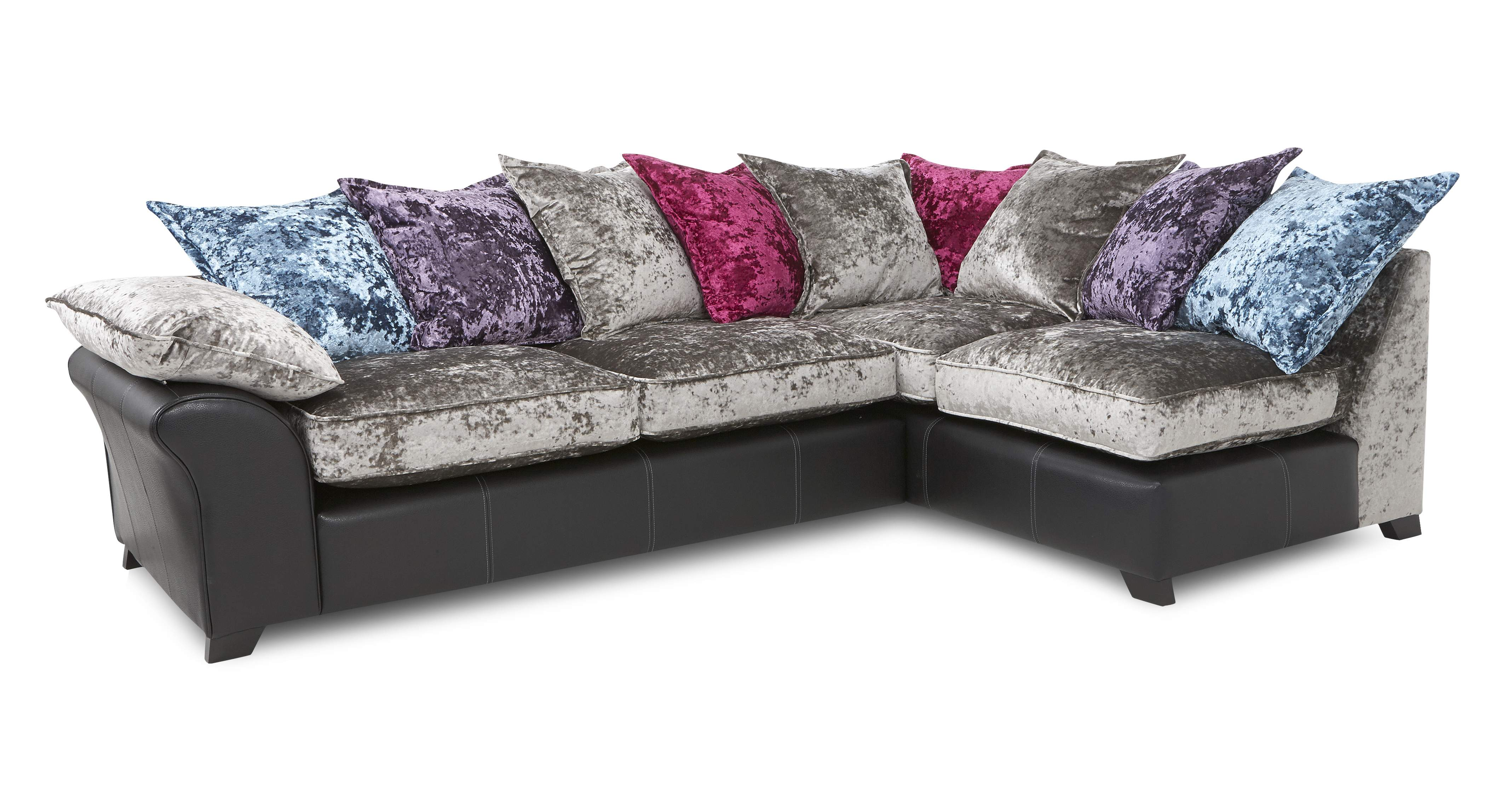 Corner Sofa, Large Foot Stool, Swivel