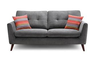 3 Seater Sofa Removable Arm Plaza