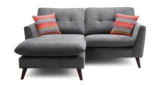 Seth 3 Seater Lounger Sofa Removable Arm