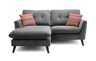 3 Seater Lounger Sofa Removable Arm Plaza