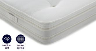 Silk Deluxe Mattress Small Double (4 ft) Mattress
