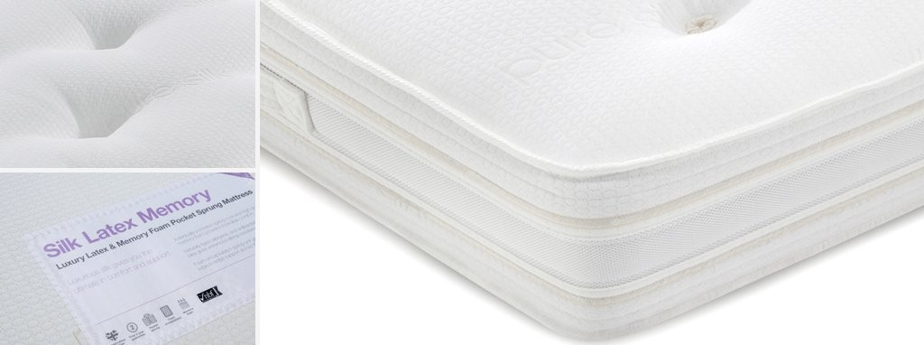 Silk Latex Memory Mattress