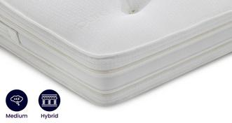 Silk Latex Memory Mattress King (5 ft) Mattress