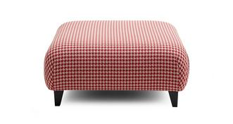 Silsden Pattern Large Footstool