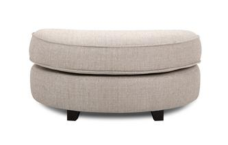 Half Moon Footstool KIrkby Plain