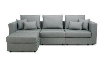 4 Seats, 5 Sides - The Corner Snuggle- Casual Fabric