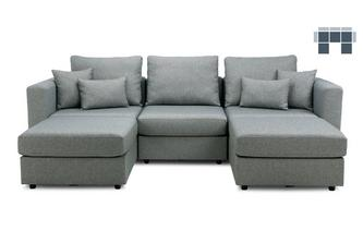 5 Seats, 5 Sides - The Chill Zone - Casual Fabric