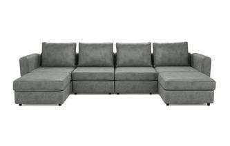 6 Seats, 6 Sides - The Corner Hug - Endure Fabric