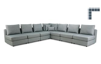 7 Seats, 8 Sides - So Gather Around - Casual Fabric