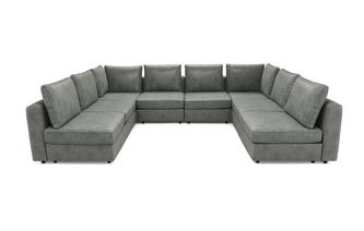 8 Seats, 10 Sides - So At Home - Endure Fabric