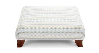 Sophia Striped Footstool