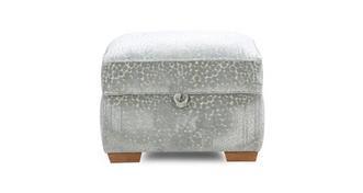 Sophia Pattern Storage Footstool