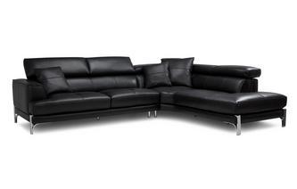 Left Arm Facing Large Corner Sofa New Club