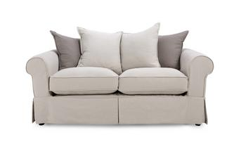 Pillow Back 2 Seater Sofa Classic Cotton