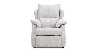 Stow Fabric D Armchair
