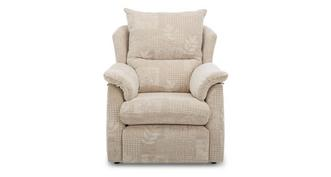 Stow Fabric C Small Manual Recliner Chair