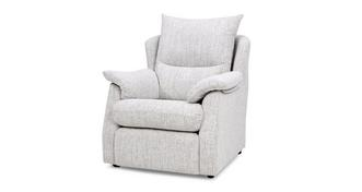 Stow Fabric D Small Armchair