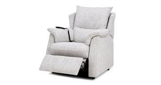 Stow Fabric D Rise and Tilt Electric Recliner Chair