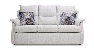 Stow Fabric D 3 Seater Sofa