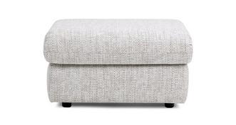 Stow Fabric D Storage Footstool