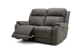 Fabric 2 Seater Power Recliner Sofa