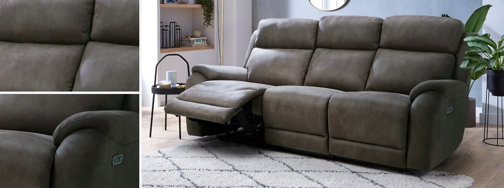 Pleasant Strata Fabric 3 Seater Power Recliner Sofa Prestige Dfs Spain Gmtry Best Dining Table And Chair Ideas Images Gmtryco