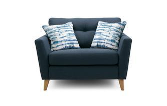 Boucle Cuddler Sofa