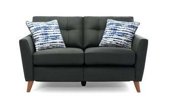 Leather 2 Seater Motion Sofa