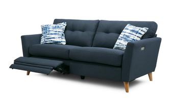 Boucle 3 Seater Motion Sofa