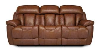 Supreme 3 Seater Manual Recliner