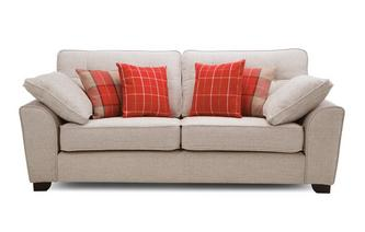 3 Seater Deluxe Sofa Bed KIrkby Plain